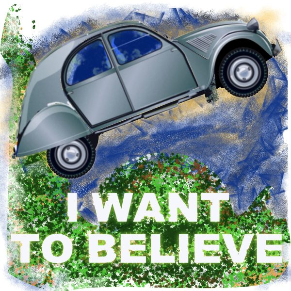 """Magnet 2CV """"I want to believe"""""""