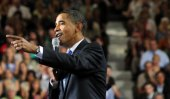 President Obama speaks at a Portsmouth, NH event on August 11 (Darren McCollester/Getty)