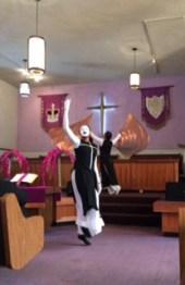Grace Tabernacle dancer