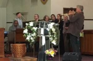 MLK Day Dave & choir