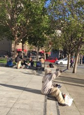 Downtown 6.19 homeless group