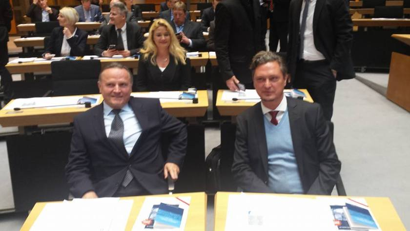 Georg Pazderski, Fraktionsvorsitzender und Frank-C. Hansel, Parlamentarischer Geschäftsführer (PGF)