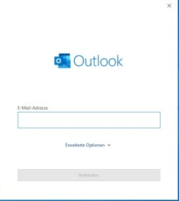 Synology Outlook Konto hinzufügen