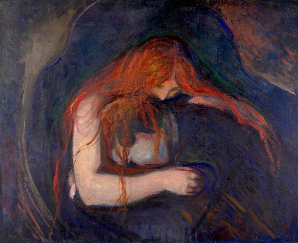 charles baudelaire le vampire - Edvard Munch - Lovisolo