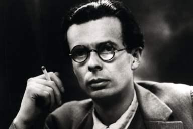 1946 --- Aldous Huxley --- Image by © Bettmann/CORBIS - Noam Chomsky