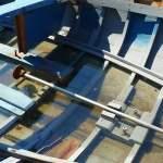 La barque bleue du port Saint Louis au Mourillon