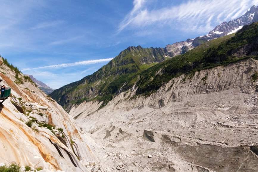 Le Glacier de Bionnassay - L'agonie des géants - Mer de Glace