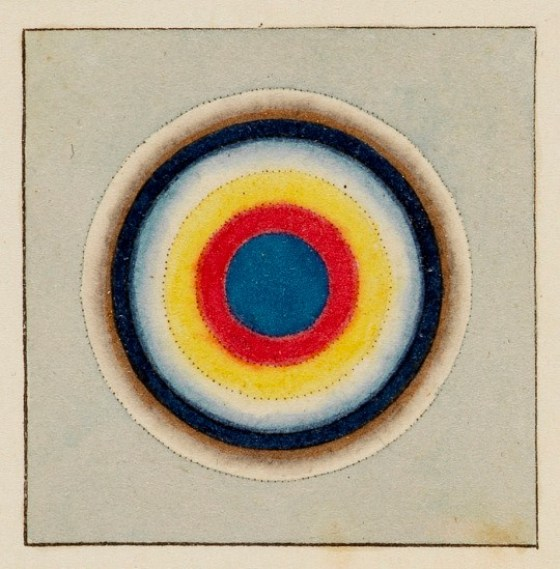 James Sowerby. A New Elucidation of Colours, Original, Prismatic, and Material: Showing their Concordance in Three Primitives, Yellow, Red, and Blue. 1809.