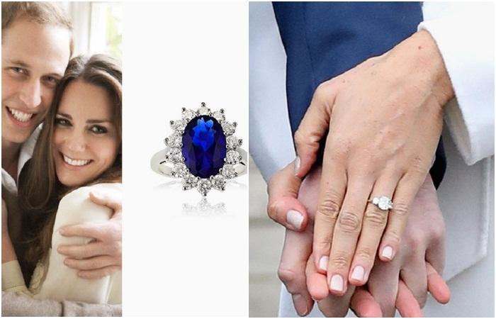 Бриллианты или цветные камни: История и тайны помолвочных колец королевской семьи Виндзоров
