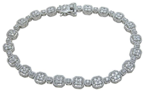 Wholesale 925 Sterling Silver Anitque Style Bracelet