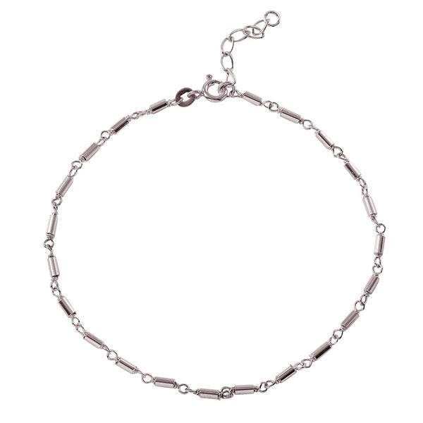 wholesale sterling silver Bar Link Anklet