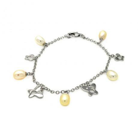 wholesale silver cross bracelet