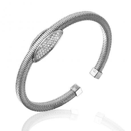 wholesale silver italian cuff bracelet