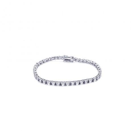 wholesale silver cz tennis bracelet1