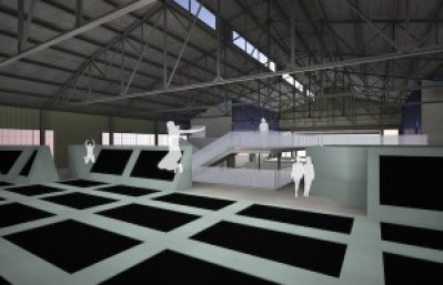 trampoline park project parque de trampolines