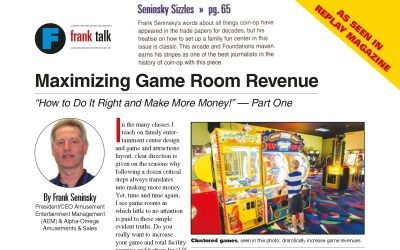 Maximizing Game Room Revenue – Part 1