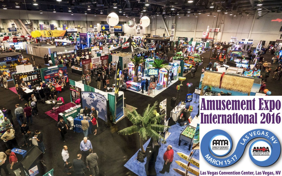 'Best Show in a Decade!' – Amusement Expo 2016 Las Vegas NV March 15-17