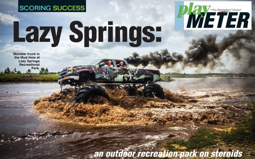 Lazy Springs an Outdoor Recreation Park on Steroids