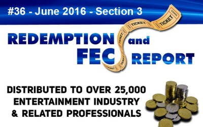 Top 80 Ranked Revenue Generating Games – The Redemption & Family Entertainment Center Report – June 2016