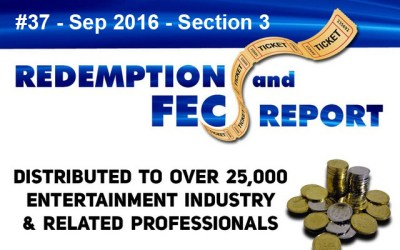 Top Redemption & Merchandiser Prizes- The Redemption & Family Entertainment Center Report – September 2016