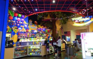 Frank Seninsky was on the design team for the Foxwoods Casino Tree House Arcade, a two-level game zone. Shown is the redemption prize centre as it looks today in the US