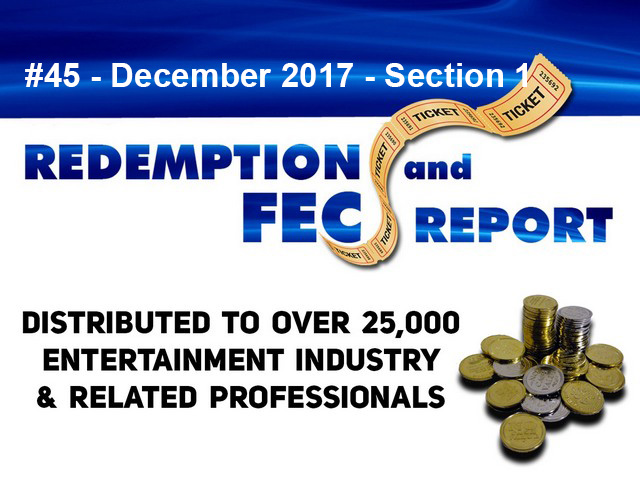 The Redemption & Family Entertainment Center Report – December 2017 Section 1