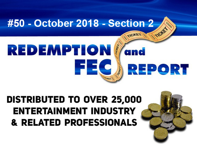 The Redemption & Family Entertainment Center Report – October 2018 Section 2