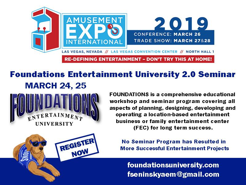 AMOA 2019 Innovator Awards to be Finalized at Amusement Expo