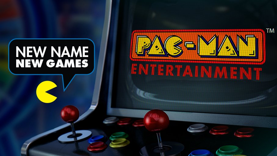 Namco USA Changes Name to Pac-Man Entertainment