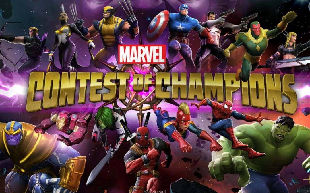 Marvel Contest Of Champions Soon at Dave & Busters