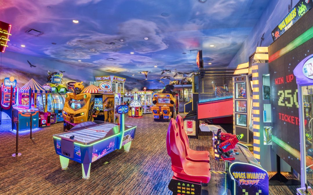 Bass Pro Shops Underwater-Themed Game Zones Are Here!