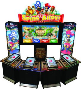Spins Ahoy 4 Player
