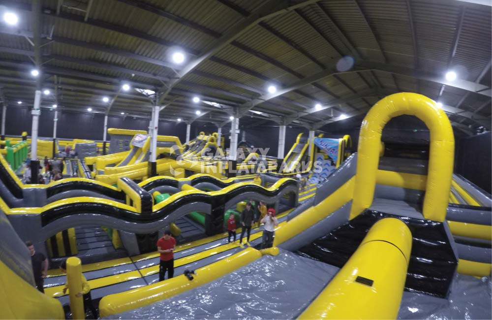 World's Largest Inflatable Action Theme Park – Galaxy InflataParks