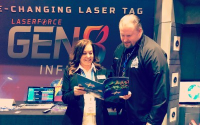 Laserforce New Gen8 Infinity System is a 'Game Changer' for Laser Tag