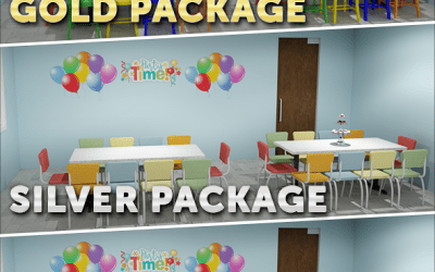 Facility Concepts Offers Three Tables & Chairs 'Party in a Box' Packages to Outfit Party Spaces