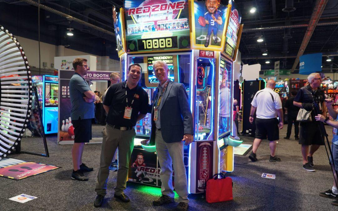 Red Zone Rush 4 Player (Bandai Namco) has its debut at Bowl Expo 2019