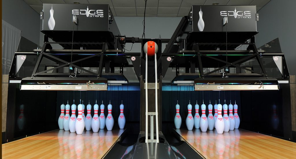 QubicaAMF Introduces 'EDGE String' Low Voltage Pinspotter at Bowl Expo 2019