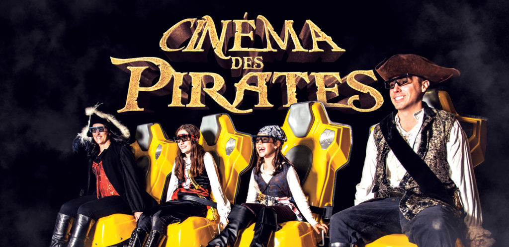 Triotech 16-Seat XD Theater 'Le Cinéma Des Pirates' is installed in Old Port of Montreal