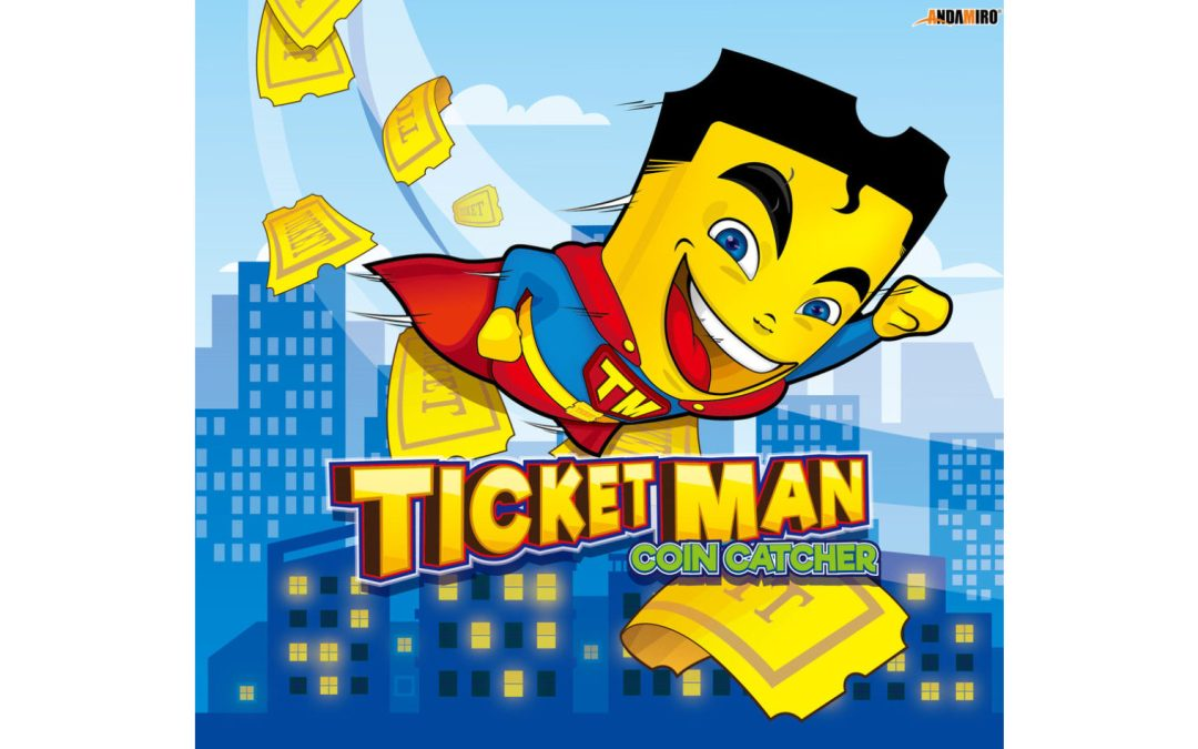 Andamiro's 'Ticket Man' Redemption Coin Catcher Series Game Will Ship Late October