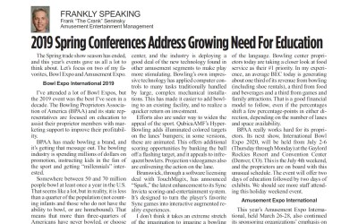 2019 Spring Conferences Address Growing Need For Education