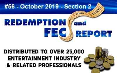 The Redemption & Family Entertainment Center Report – October 2019 Section 2