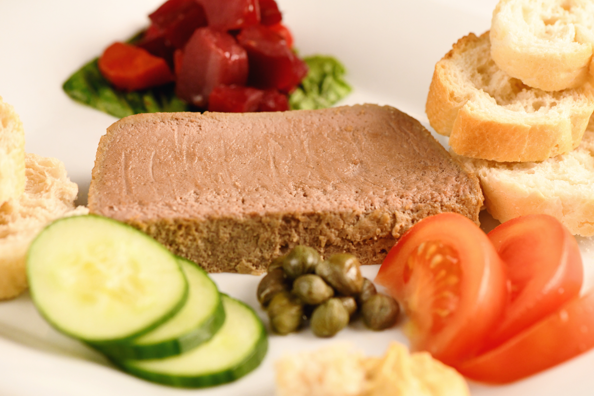 Chicken Liver Pâté: satiny-smooth and spreadable pâté en terrine