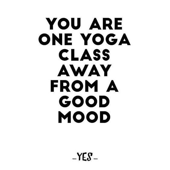 one yoga class