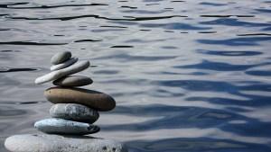 zen, stones, balance