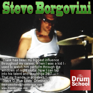 The Drum School @frankbriggs.com