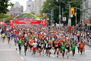 SCOTIABANK - Starting line shot