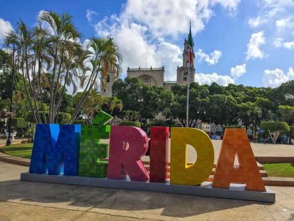 letras merida yucatan