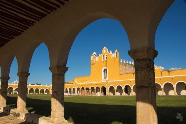 Convento de San Antonio de Padua en Izamal Yucatán