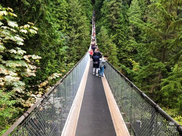 puente colgante en vancouver