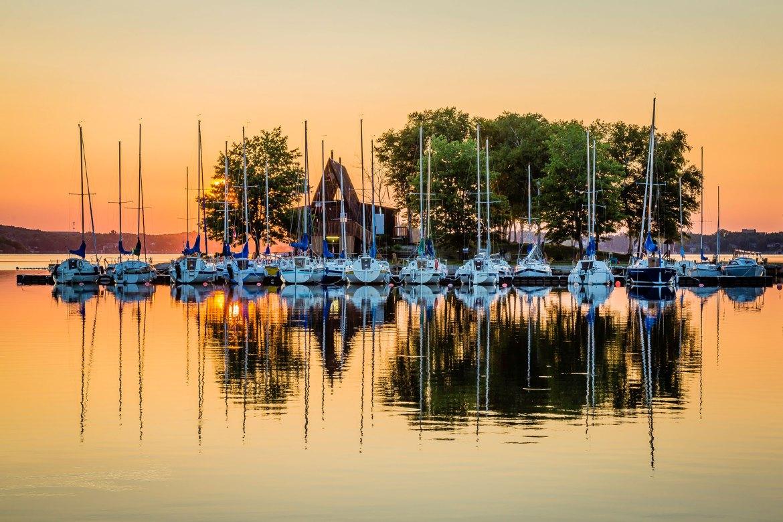 Sunrise Over Lake Ramsey